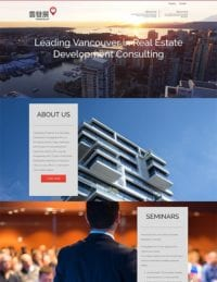 Vancouver Real Estate Website | Graphic Design | Wordpress | Vanvouver